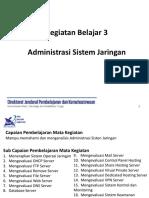 Administrasi Server Jaringan