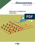 Aplicação Localizada de Herbicidas