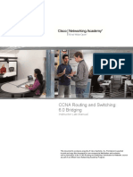 Bridging Lab Manual from CCNA2.0 to CCNA3.0