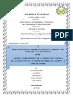 Examen Partiel Gestion de Projet Suivi Evaluation