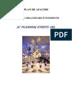 120616961 Plan de Afaceri Firma Organizare Evenimente