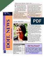 Doit Newsletter Fall 2010