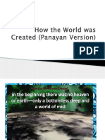 How the World Was Created (Panayan Version