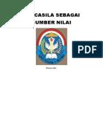 PANCASILA SEBAGAI SUMBER NILAI.docx