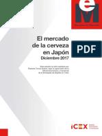 Estudio Mercado Cerveza Japón 2017
