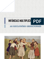 INFÂNCIAS MULTIPLICIDADES