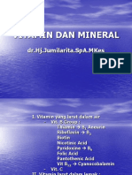 Dr Jumilarita, Vitamin Dan Mineral