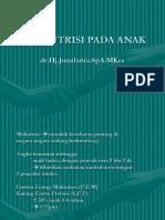 dr Jumilarita, MALNUTRISI PADA ANAK.ppt