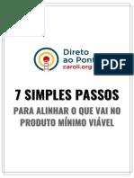 7 Simples Passos Para o Mvp