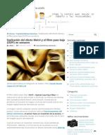 Moiré y El Filtro Paso Bajo (OLPF) en Sensores