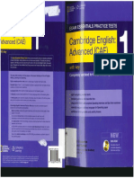 CAE Essentials Practice Test