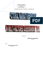 MFAT Report