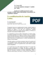 Remilitarización de América Latina
