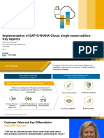 S4H_006 Introduction to SAP S4HANA Cloud STE