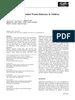Risk Factors for Abdominal Wound Dehiscence in Children