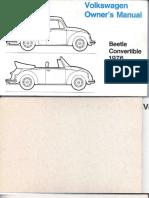 Manual Fusca 1976