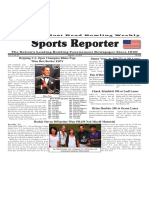 August 8 - 14, 2018  Sports Reporter