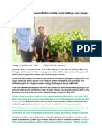 Artikel Naufal Penemu Pohon Listrik