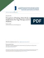 Yoga-Perceptions of Healing_ Mind Body and Spiritual Implications