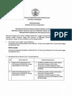 2017 09 27 Perubahan Atas Pengumuman Nomor 59658 Seleksi Jpt Pratama Kemdikbud