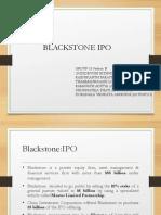 Blackstone IPO Group 13