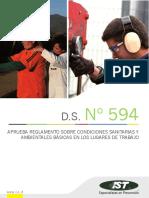 6.-DS N°594 Condiciones Lugares de Trabajo