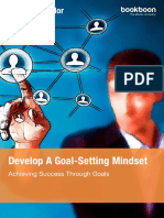 Develop a Goal Setting Mindset