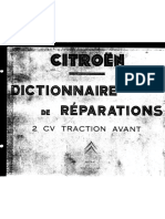 CITROEN dictionnaire de reparations 2cv traction avant(1955) .pdf