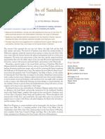 The Sacred Herbs of Samhain catalog page