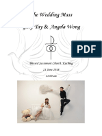 Gary and Angela Wedding Booklet 21 June 2018