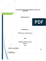 Base de Datos de Produccion de Queso Actividad 97