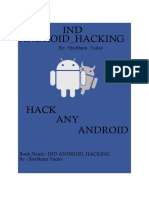 IND ANDROID_HACKING By:- Shubham Yadav