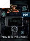 Mpg9206 - Starship Troopers the Rpg - Mobile Infantry Field Manual