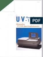 UV-1700 folleto