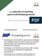 Coaching para la Efectividad Gerencial