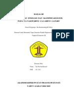 Elektrolit Kata Pengantar, Dafar Isi, Cover