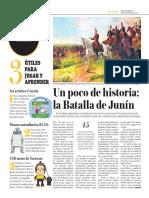 Un Poco de Historia, La Batalla de Junín