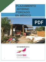 PP- Desplazamiento Interno Por Violencia en Mexico - CMDPDH-ITAM Nov 2014