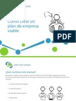 Manual - cómo crear un plan de empresa viable