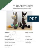 Pattern Donkey Eddie