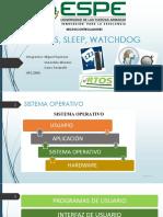 Rtos, Sleep, Watchdog