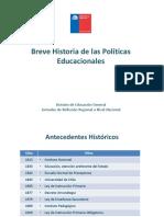 1 Breve Historia Politicas Educacionales