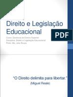 Apresentação Da Aula Direito Educacional
