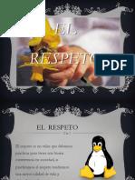 Diapositivas Respeto
