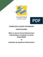 CCTP Virtualisation Du SI