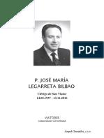 Josemaria Legarreta Bilbao, Vida