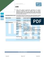 WEG Lackpoxi n 2288 Boletim Tecnico Portugues Br