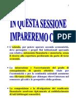 Corso di contabilità e bilancio SESSIONE - 21