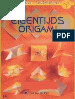 Eigentijds Origami - Tiny Van Der Plas