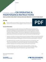 FST Accumulator Operating Maintenance Instructions